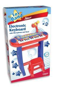 Tastiera 31 Tasti Con Microfono E Sgabello