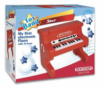 Bontempi 10 2000. Toy Band Star. Piano Elettronico 24 Tasti - 2