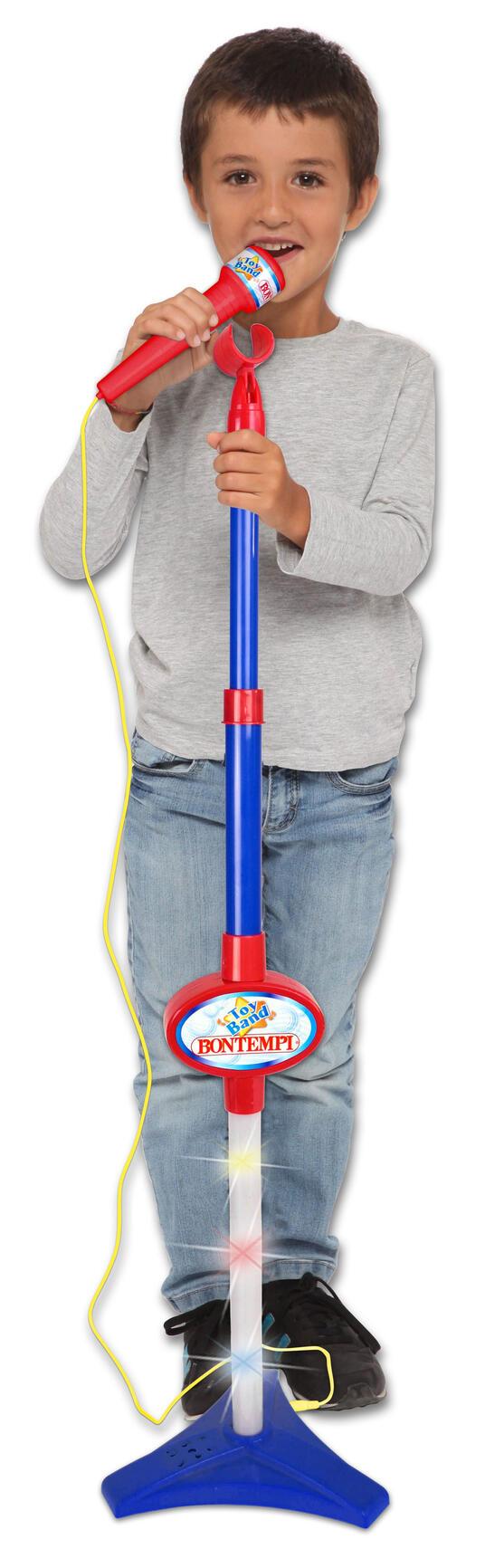 Microfono da Palcoscenico o da Tavolo Asta Regolabile in Altezza Connessione a Dispositivi Esterni. Bontempi (40 1120) - 4