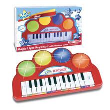 Tastiera Elettronica 22 Tasti 2 Funzioni Tastiera e 22 Melodie Effetti Luminosi. Bontempi (12 2240)