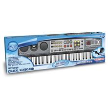 Tastiera Digitale 49 Tasti 100 Suoni 100 Ritmi 10 Canzoni Preregistrate. Bontempi (15 4900)