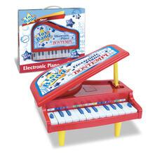 Pianoforte Elettronico a Coda 11 Tasti Effetti Luminosi 8 Brani Preregistrati Gambe Smontabili. Bontempi (10 1210)