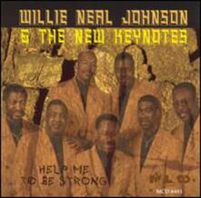 Help Me to Be Strong - CD Audio di Willie Johnson