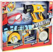 Giocattolo Attrezzi Lavoro 4in1+Occhiali Lanard Toys
