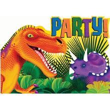 Prehistoric Party. 6 Inviti Con Busta