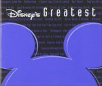 Disney's Greatest 1 (Colonna Sonora) - CD Audio