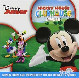 Mickey Mouse Clubhouse Favorites - CD Audio
