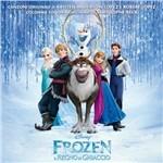Cover della colonna sonora del film Frozen - Il Regno di Ghiaccio