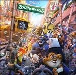 Cover CD Colonna sonora Zootropolis