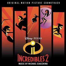 CD The Incredibles 2 (Colonna Sonora)