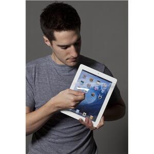 Pellicola protettiva Privacy 3M Clear per iPad - 2