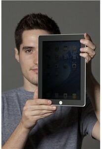 Idee regalo Pellicola protettiva Privacy 3M per iPad2 e iPad3 per uso verticale 3M