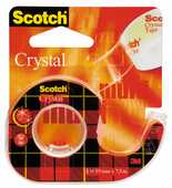 Cartoleria Scotch Nastro Adesivo 600 Crystal in chiocciola Scotch