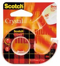 Scotch Nastro Adesivo 600 Crystal in chiocciola