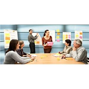 4 Blocchetti Post-it Notes Super Sticky Meeting Notes - 2