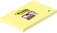 3M Post-it. Foglietti Super Sticky Colore Giallo Canary (Confezione Da 12 Blocchetti Con Film Singolo Da 90 Fogli) 127x76 mm