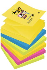 3M Post-it. Foglietti Per Dispenser Super Sticky Z-notes Colori Rio De Janeiro