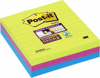 Cartoleria 3 Blocchetti Post-it Notes Super Sticky Post-it 0