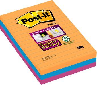 Cartoleria Foglietti Post-it Super Sticky colori Bangkok Post-it