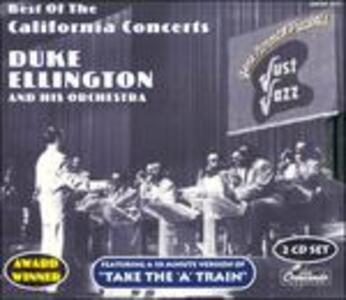 CD California Concerts Duke Ellington