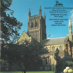Festival Te Deum per coro e organo - CD Audio di Ralph Vaughan Williams,Hilary Davan Wetton,John Birch