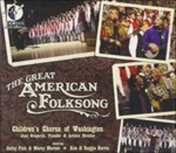 The Great American Folksong - CD Audio