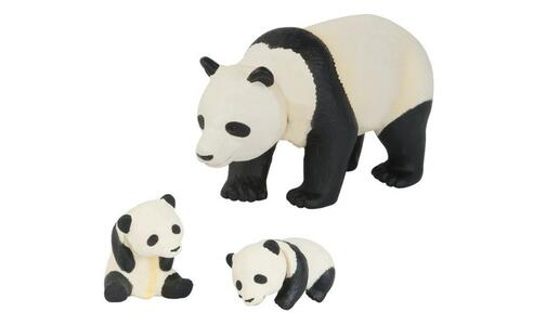 Panda Con Cuccioli Tomy