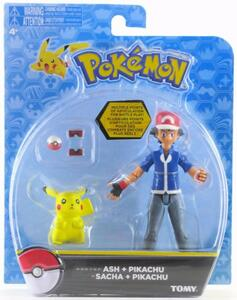 Action Figure Tomy Pokemon T18516 Pacchetto Ash & Pikachu - 3