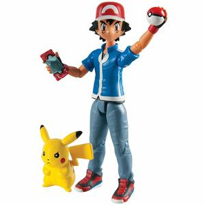 Action Figure Tomy Pokemon T18516 Pacchetto Ash & Pikachu - 4