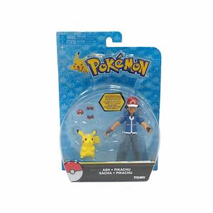 Action Figure Tomy Pokemon T18516 Pacchetto Ash & Pikachu - 5