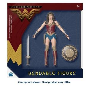 Dc Comics: Wonder Woman Movie. Wonder Woman 6 Inch Bendable - 2