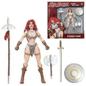 Red Sonja 6 Inch Bendable Figure