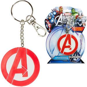 Portachiavi Gomma Marvel - Logo Avengers
