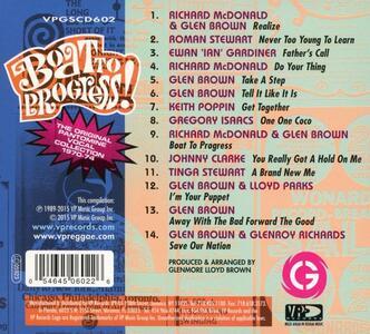 Boat to Progress! - CD Audio di Glen Brown - 2
