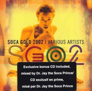 Soca Gold 2002 - CD Audio