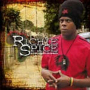 In the Streets to Africa - CD Audio + DVD di Richie Spice