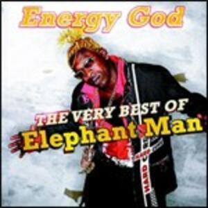 Energy God. The Very Best of Elephant Man - CD Audio + DVD di Elephant Man