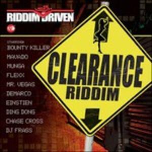 Riddim Driven. Clearance - CD Audio