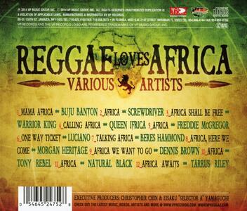 Reggae Loves Africa - CD Audio - 2