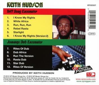 Tuff Gong Encounter - CD Audio di Keith Hudson - 2
