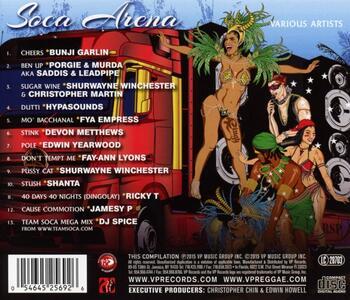 Soca Arena - CD Audio - 2