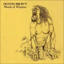 Words of Wisdom - Vinile LP di Dennis Brown
