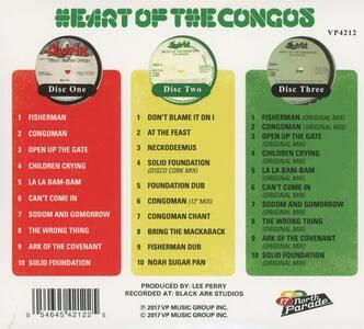 Heart of the Congos (40th Anniversary Edition) - CD Audio di Congos - 2