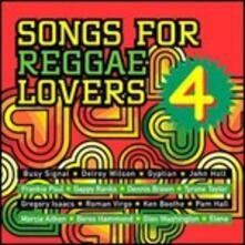 Songs for Reggae Lovers vol.4 - CD Audio