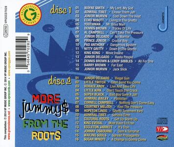 More Jammys from the Roots - CD Audio - 2