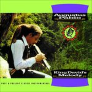 King David's Melody - CD Audio di Augustus Pablo