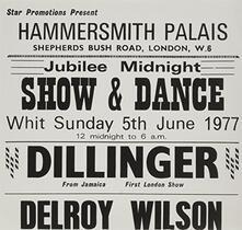 White Man at Hammersmith Palais - Vinile 7'' di Leroy Smart