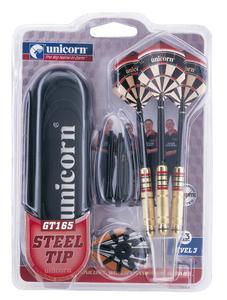 Giocattolo Set 3 freccette con punta in metallo Unicorn