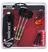 Giocattolo Set 3 freccette con punta in metallo, custodia e accessori Unicorn S400 Unicorn 0