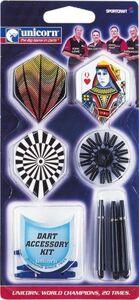 Giocattolo Kit accessori per freccette Unicorn